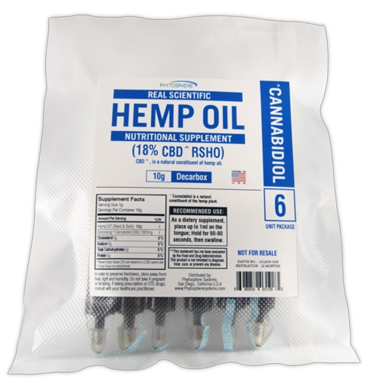 RSHO Blue Label CBD Hemp Oil - Hemp4Good