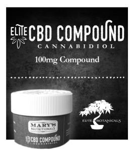 Mary's Elite CBD Compound Balm