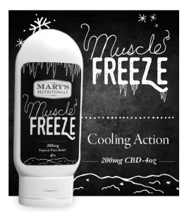 Mary's Muscle Freeze-Topical